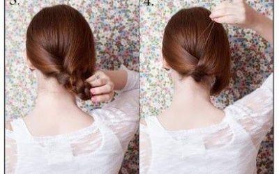Tutorial para hacer una falsa media melena o «bob hair»