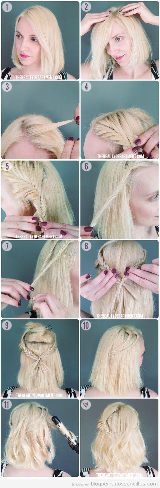 Peinados sencillos | Explicaciones paso a paso, ideas y vídeos para