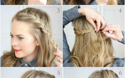 Peinados Para El Pelo Suelto Peinados Sencillos