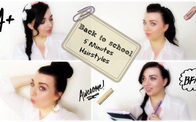 Peinados sencillos que se pueden hacer en menos de 5 minutos