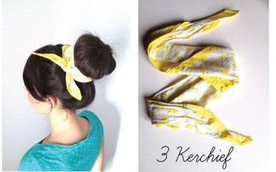 6 accesorios de pelo para llevar el moño donut