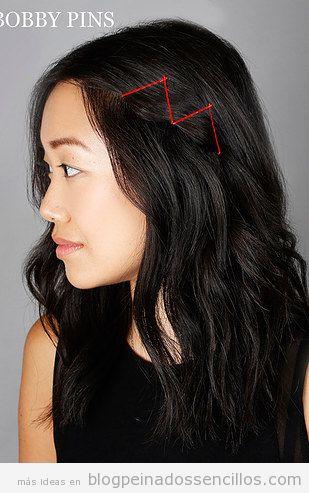 Ideas para decorar peinados con clips  y horquillas