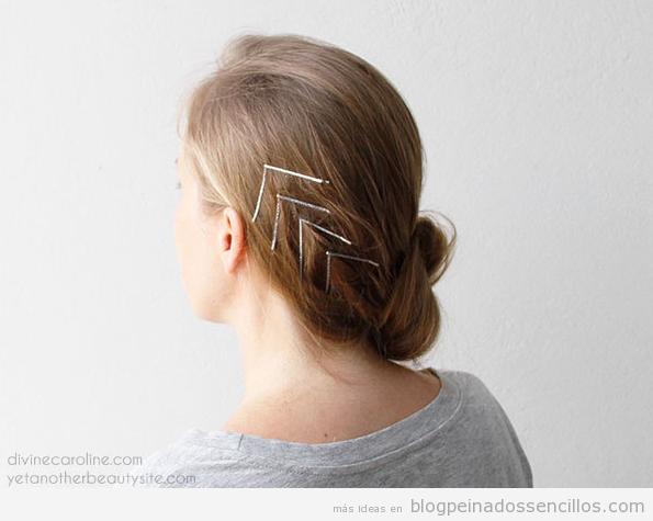 Ideas para decorar pelo con clips  y horquillas colores