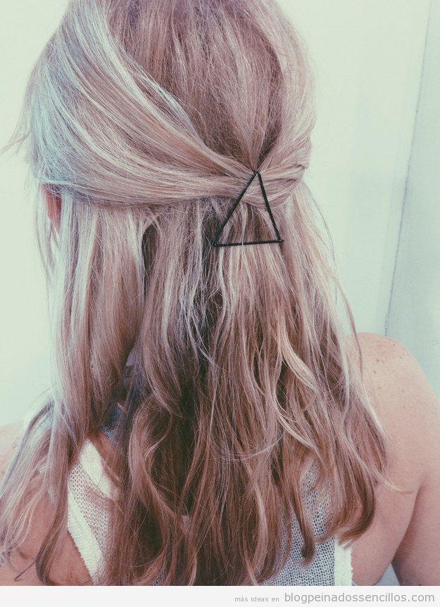 Ideas para decorar pelo con clips  y horquillas