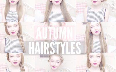 Peinados fáciles y bonitos para otoño (videotutorial)