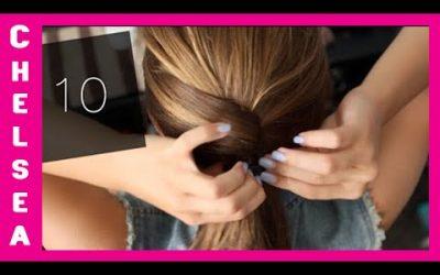 10 peinados sencillos para ir a clase o al trabajo, pelo corto y media melena
