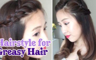 Peinado fácil para cuando tienes el pelo hecho un desastre
