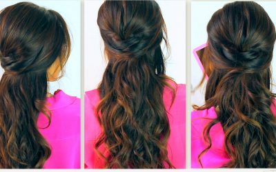 Idea de un peinado sencillo para diario