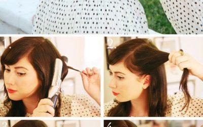 Te atreves con un look retro? Te traemos un tutorial de un peinado estilo años 50!