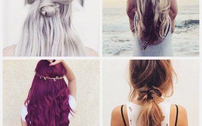 4 peinados estilo «boho» sencillos y bonitos