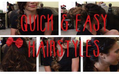6 peinados rápidos y fáciles para pelo largo, vídeo paso a paso