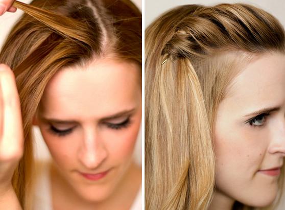 10 peinados fáciles para quitar flequillo cara 10