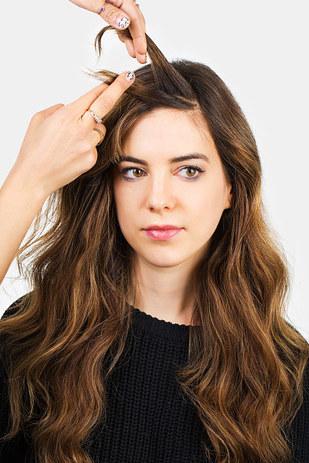 10 peinados fáciles para quitar flequillo cara 6