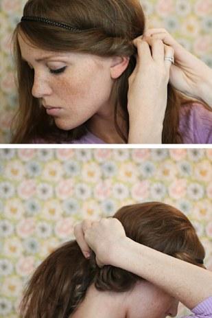 10 peinados fáciles para quitar flequillo cara 9