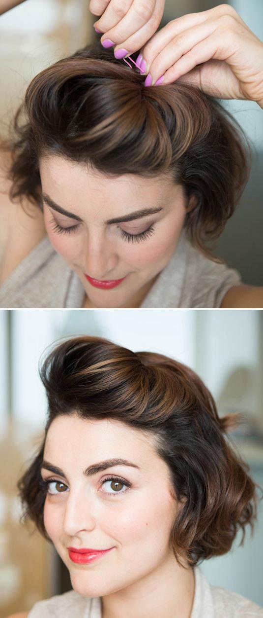 10 peinados fáciles para quitar flequillo cara 2