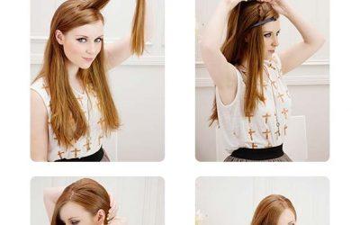 Cómo hacer un bouffant con pelo suelto, paso a paso