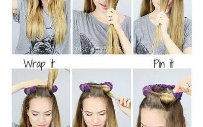 Truco fácil para hacerte unas ondas naturales en el pelo sin aplica calor