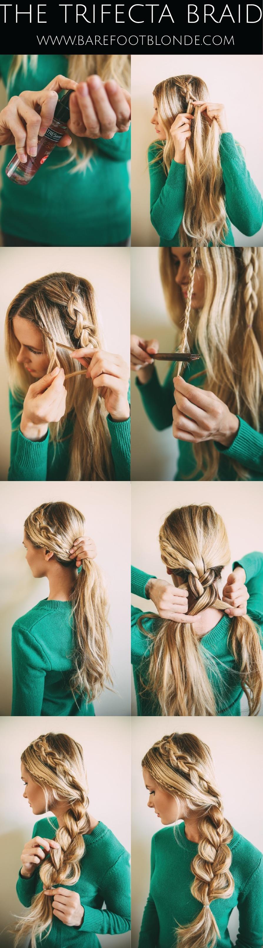 Tutorial peinado sencillo con trenzas
