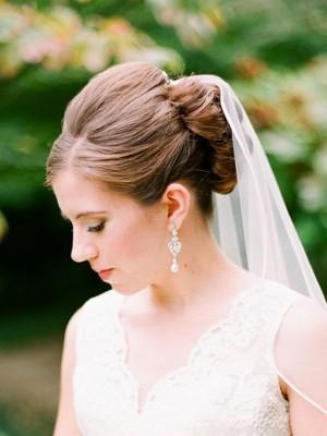 5 Peinados para novias con velo, bodas 2015