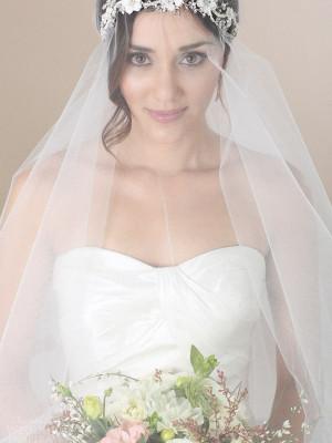 3 Peinados para novias con velo, bodas 2015