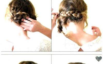 Peinado super fácil de hacer y perfecto para invitadas de boda