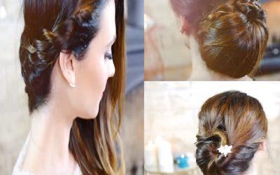 3 sencillas ideas de peinados para Nochevieja 2015