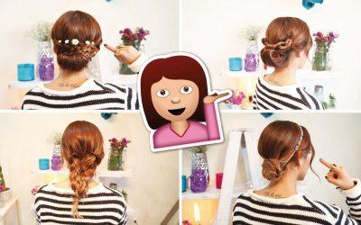 Peinados sencillos para cualquier ocasión