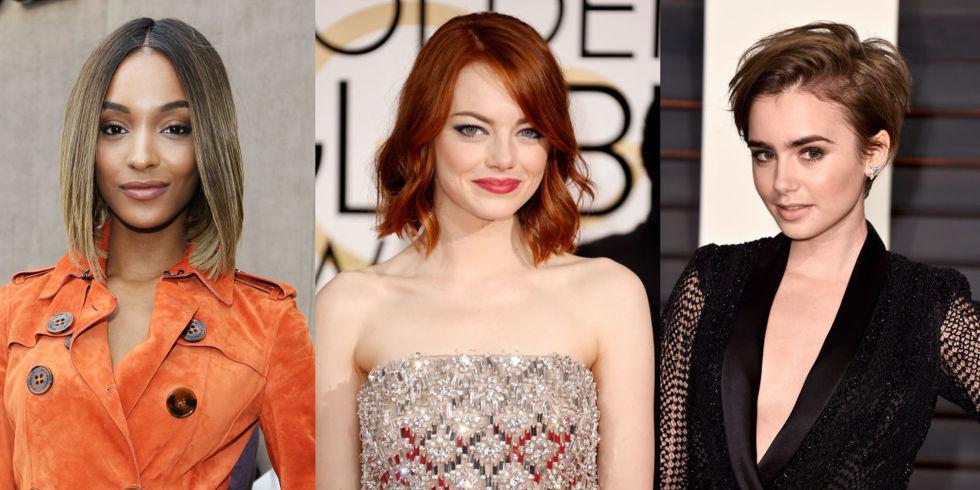 Peinados y cortes de pelo corto para mujer inspirado en actrices 2016