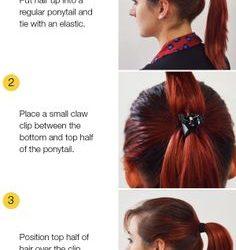 Trucos para que la coleta alta, cola de caballo o «ponytail» quede mejor