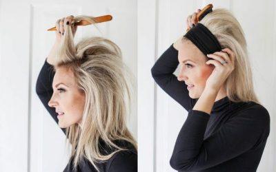 3 tutoriales para hacerse peinados con diademas: recogido, semirrecogido y pelo suelto