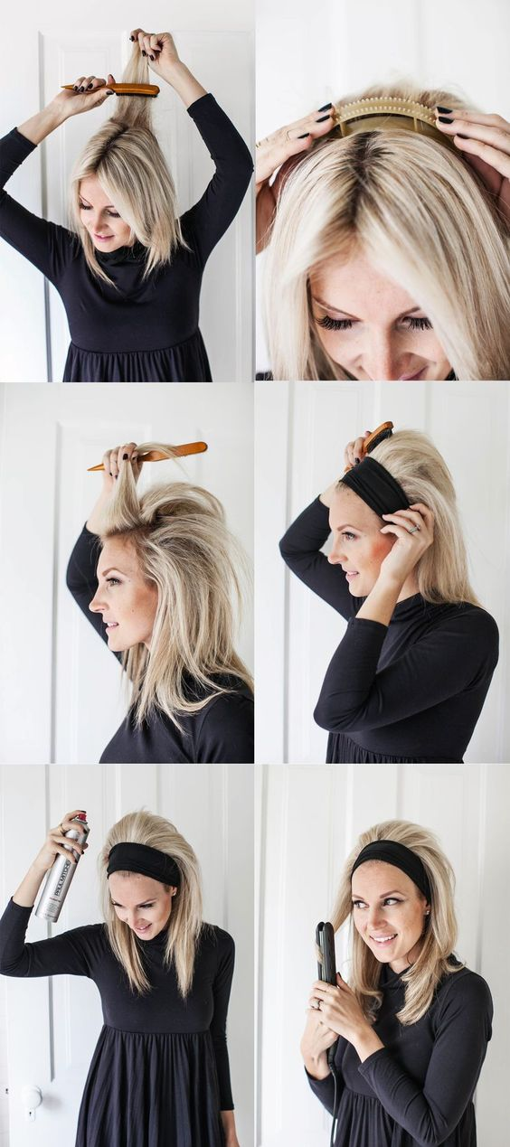 Tutorial peinado sencillo con diadema, pelo suelto