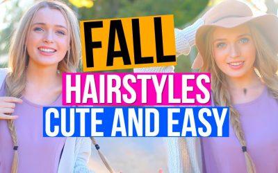 Tres peinados fáciles con el pelo trenzado para otoño 2016 (Vídeo)