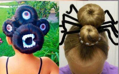 6 Peinados super chulos para la noche de Halloween #HalloweenIsComing
