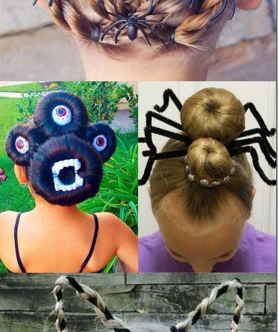 6 peinados super chulos para la noche de halloween halloweeniscoming - Peinados Chulos