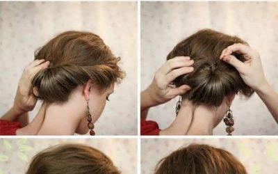 Dos moños bajos super fáciles de hacer, preciosos peinados para bodas y fiestas