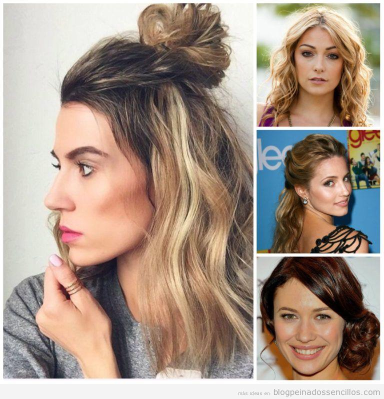 peinados media melena y pelo corto para mujer tendencia en primavera verano with peinados fiesta media melena