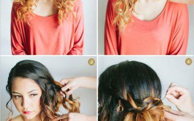 45 tutoriales con peinados sencillos para pelo rizado: haz que tus RIZOS luzcan por sí solos