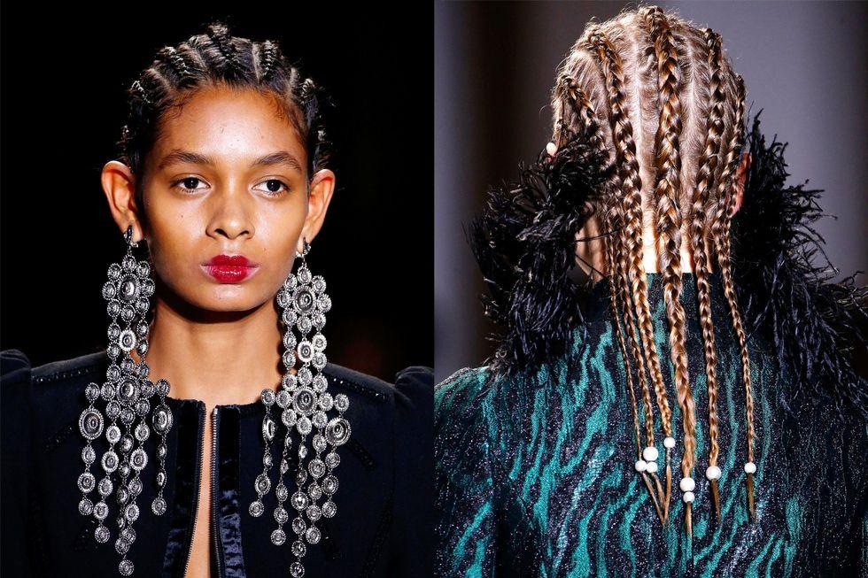 Tendencia de peinados oto o 2017 trenzas africanas que se - Que peinados estan de moda ...