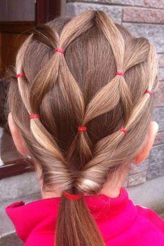 Peinados fáciles para niñas 11