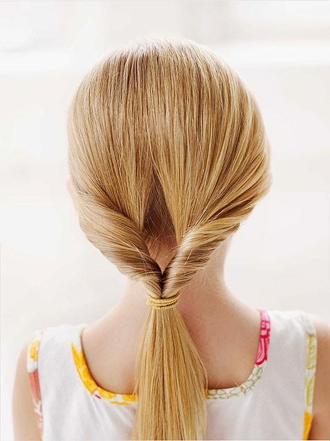 Peinados fáciles para niñas 7