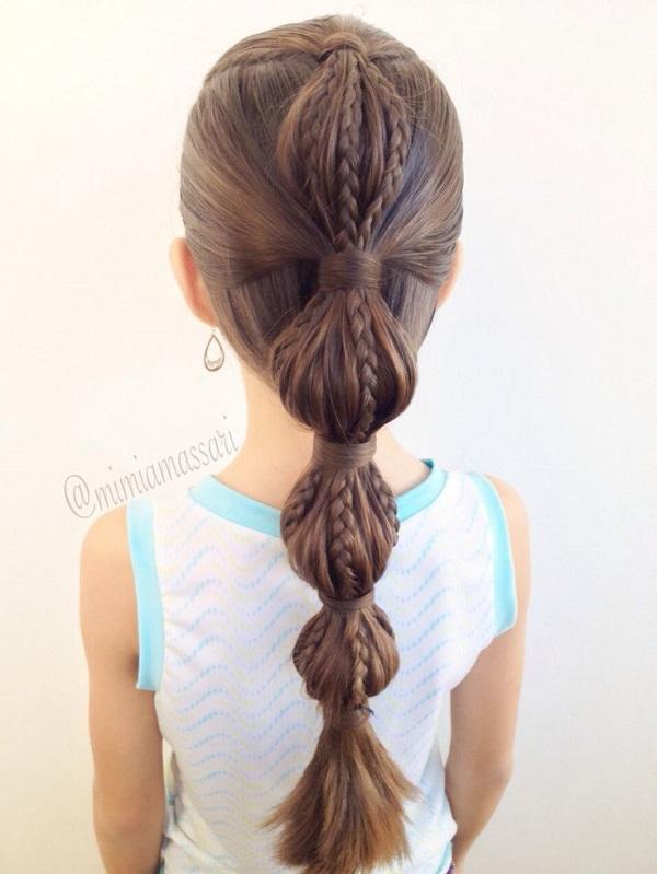 Peinados fáciles para niñas 8