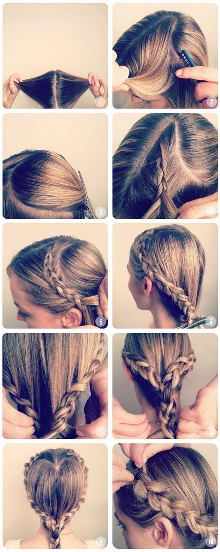 Tutorial peinado sencillo san valentin paso a paso 5