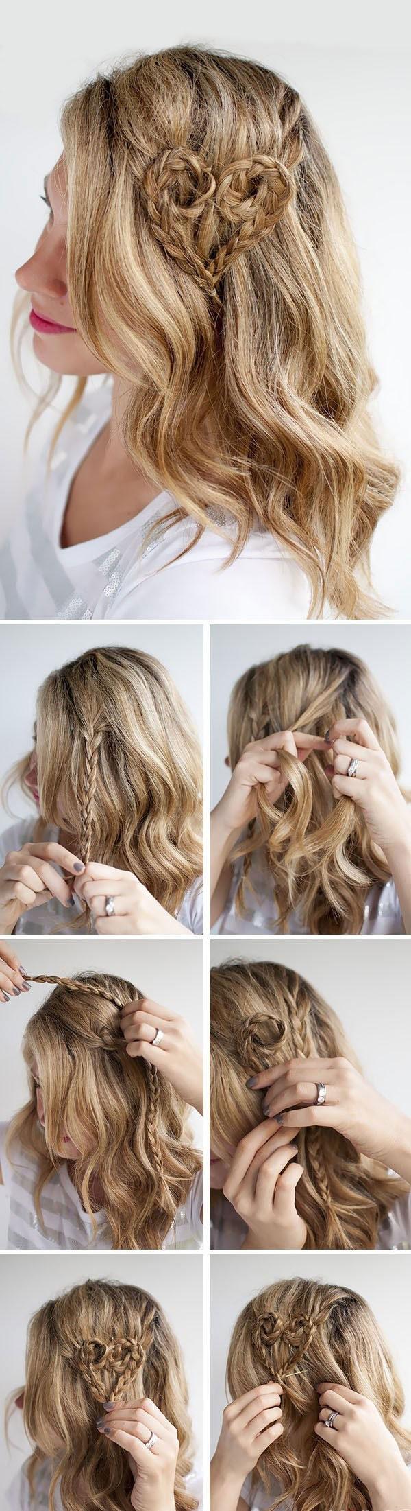 Tutorial peinado sencillo san valentin paso a paso 2