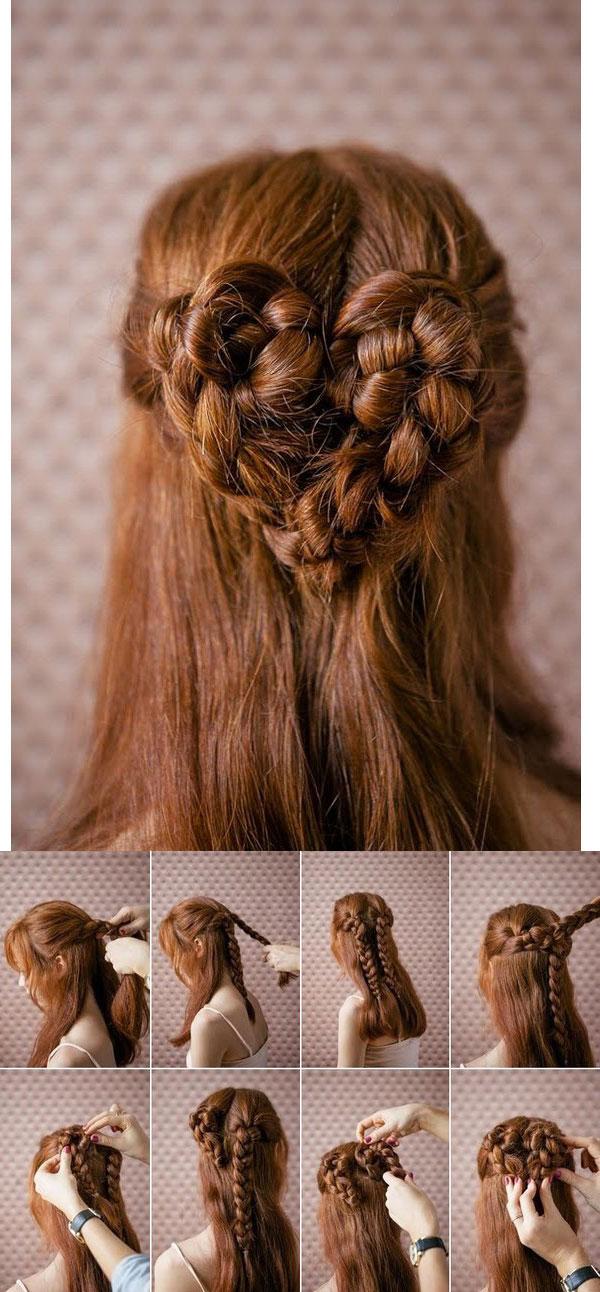Tutorial peinado sencillo san valentin paso a paso 4