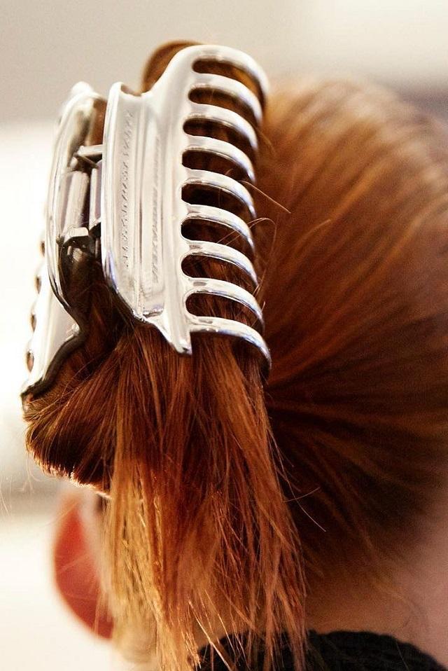 Peinado tendencia otoño 2018 pinza
