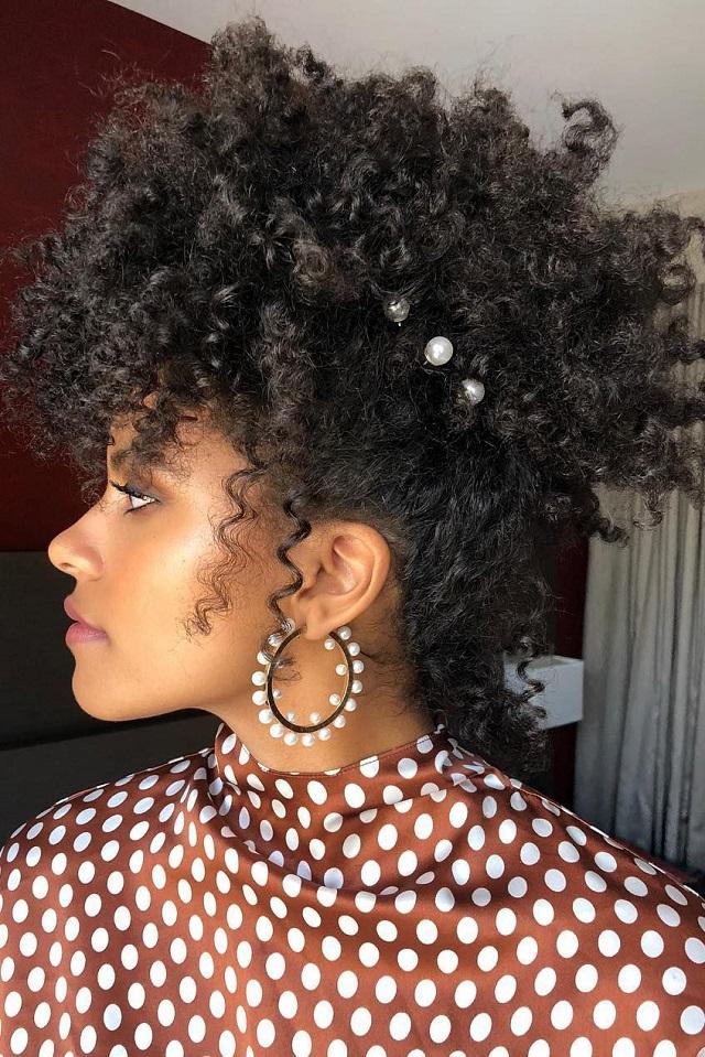 Peinado tendencia otoño 2018 pasadores laterales