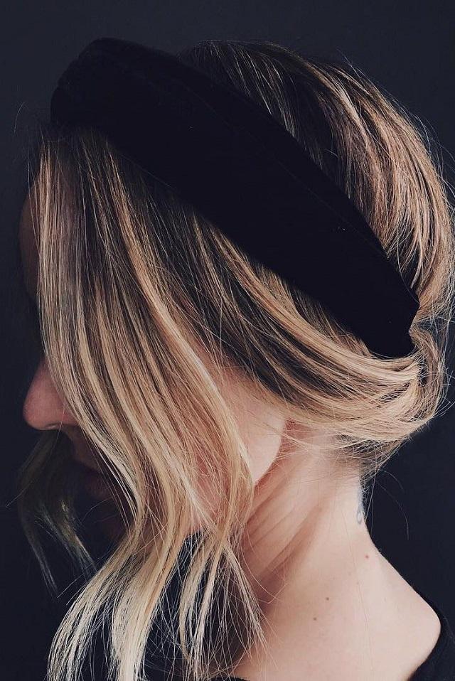 Peinado tendencia otoño 2018 diadema